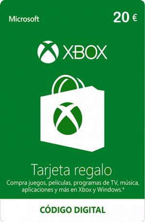 Tarjeta Xbox Live 20 Euros