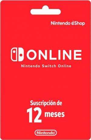 Nintendo eShop 12 meses Europa