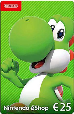 Tarjeta Nintendo eShop 25 euros