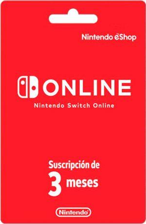 Nintendo eShop 3 meses Europa